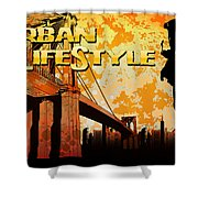 Urban Lifestyle Shower Curtain