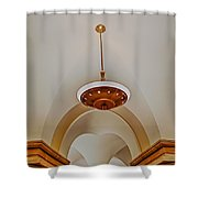 Us Capitol Crypt Shower Curtain