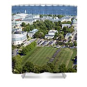 Us Naval Academy Shower Curtain