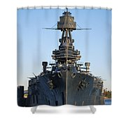 Uss Texas Bow Shower Curtain