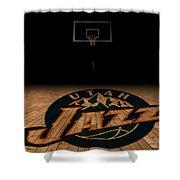 Utah Jazz Shower Curtain