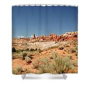 Utah Landscape 3 Shower Curtain