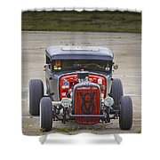 V8 Shower Curtain