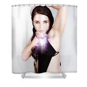 Valentines Day Kiss Shower Curtain
