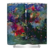 Valley Of The Waterfalls Shower Curtain