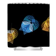 Variations On A Leaf Shower Curtain