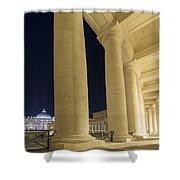 Vatican City Shower Curtain