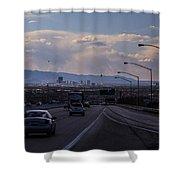 Vegas Cityscape Shower Curtain