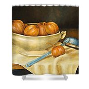 Venetian Table Shower Curtain by Pamela Allegretto