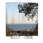 Ventura Skyline Shower Curtain