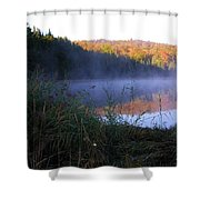 Vermont Pond Shower Curtain
