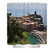 Vernazza - Cinque Terre Shower Curtain