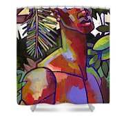 African Forest Shower Curtain