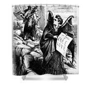 Victoria Claflin Woodhull (1838-1927) Shower Curtain