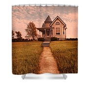 Victorian House Shower Curtain