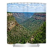 View From Sun Temple In Mesa Verde National Park-colorado  Shower Curtain