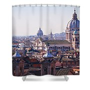 View Of Rome 2013 Shower Curtain