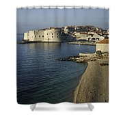 Views Of Dubrovnik Old Town Croatia Shower Curtain