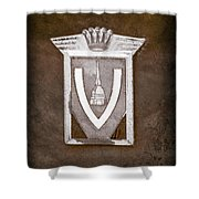 Vignale Emblem Shower Curtain