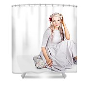 Vintage Beauty Shower Curtain
