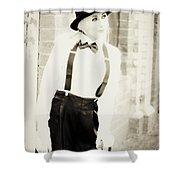 Vintage Charm Shower Curtain