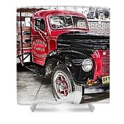 Vintage International Truck Shower Curtain by Douglas Barnard