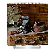 Vintage Vignette Shower Curtain