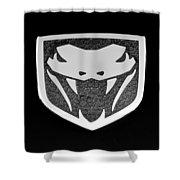 Viper Emblem Shower Curtain