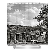 Virginia City Montana Ghost Town Shower Curtain