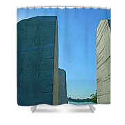 Visiting Marin Luther King Shower Curtain