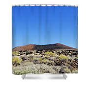 Volcanic Landscape Shower Curtain