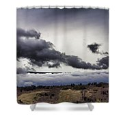 Volcano Vog Big Island Hawaii V2 Shower Curtain