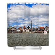 Volendam Shower Curtain by Joana Kruse