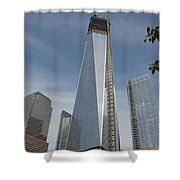 1 W T C And Museum Shower Curtain