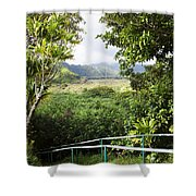 Wailua Valley State Wayside Shower Curtain