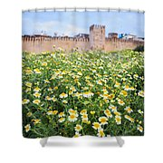 Walls Of Fes In Morocco Shower Curtain