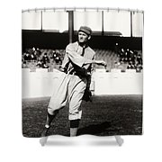 Walter Johnson Poster Shower Curtain