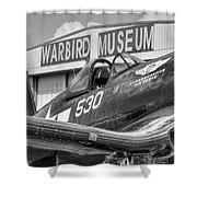 Warbird Museum Shower Curtain