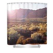 Warm Sunshine Shower Curtain