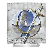 Warriors Triumphant Shower Curtain