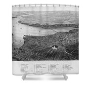 Washington, D.c., 1862 Shower Curtain