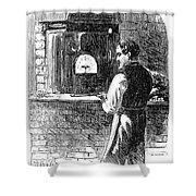 Watchmaker, 1869 Shower Curtain