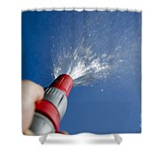 Water Hose Shower Curtain