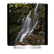 Water On The Mountain Shower Curtain