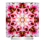 Lily Mandala Shower Curtain