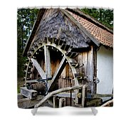 Watermill Shower Curtain