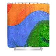 Wavelength Shower Curtain