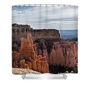 Weathered By Time Shower Curtain
