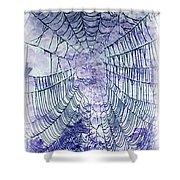 Web2invert Shower Curtain