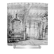 Weber Der Freischutz, 1821 Shower Curtain